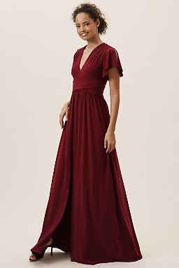 Maroon Wedding Dresses