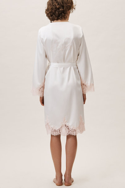 Homebodii Ivory Olivia Bride Robe | BHLDN