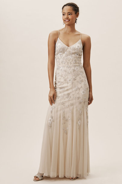 BHLDN Nude Coleman Dress | BHLDN