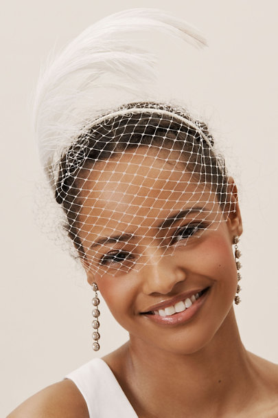 View larger image of Victoire Birdcage Veil