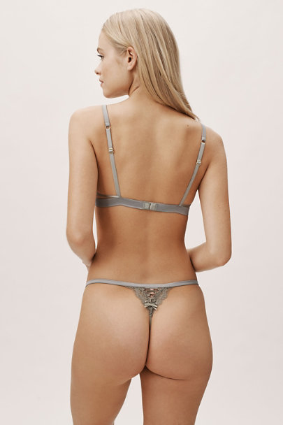 Palindrome Green Chelsea String Thong | BHLDN