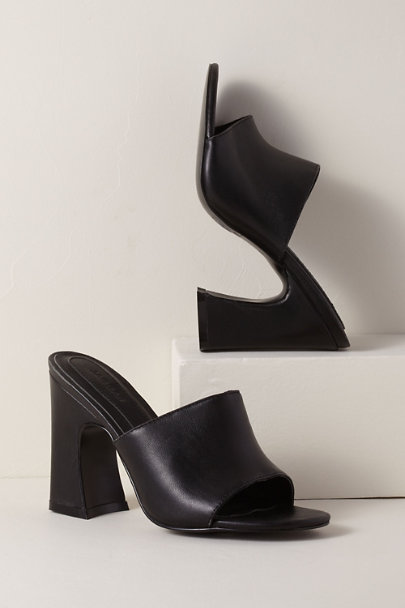 View larger image of Jaggar Crescent Leather Heels