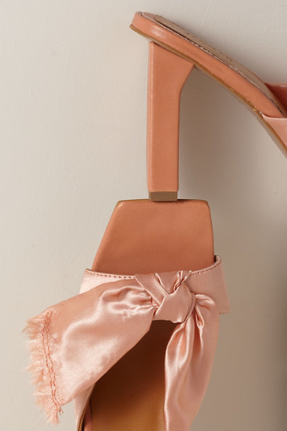 View larger image of Knot Satin Heels