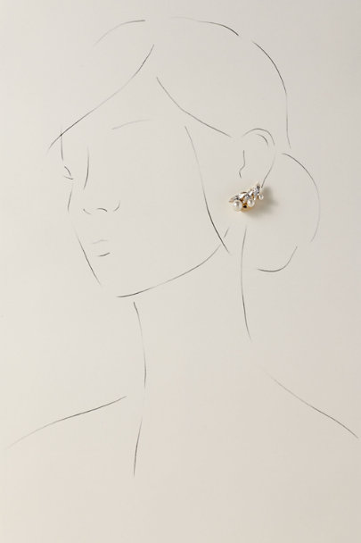 Anton Heunis Gold Cundrie Earrings | BHLDN