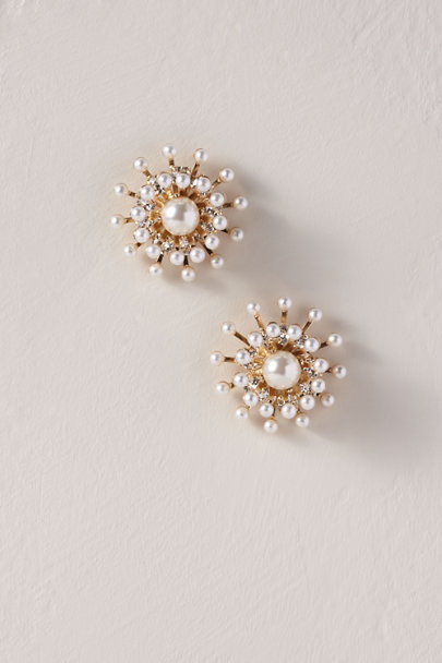 Anton Heunis Gold Cosma Earrings | BHLDN