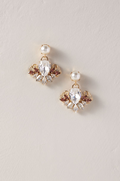 Anton Heunis Pink Clarissant Earrings | BHLDN