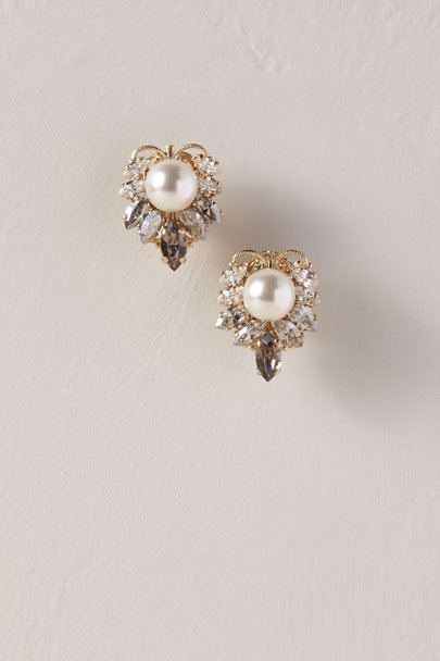 Anton Heunis Gold Tristyn Earrings | BHLDN