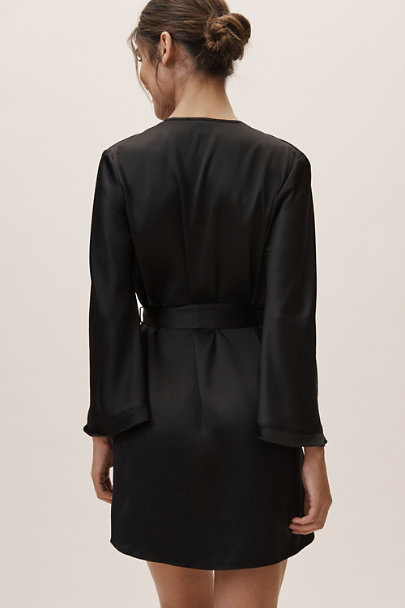 Rya Collection Black Heavenly Robe | BHLDN