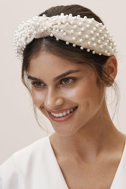 Lele Sadoughi Ivory Pearl Headband  14de0f52708