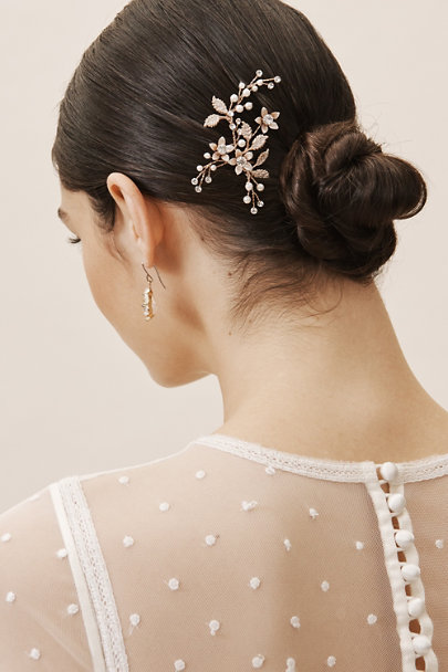 AA Bridal Pink Fianna Hair Pin | BHLDN