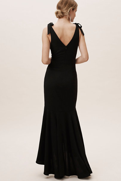 Dress the Population Black Julia Dress | BHLDN
