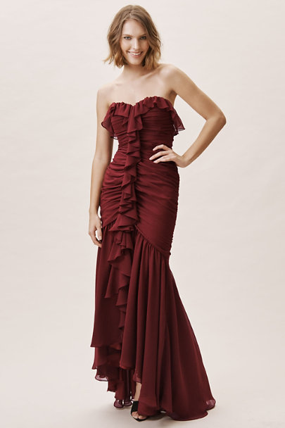 Jill Jill Stuart Currant Jett Dress | BHLDN
