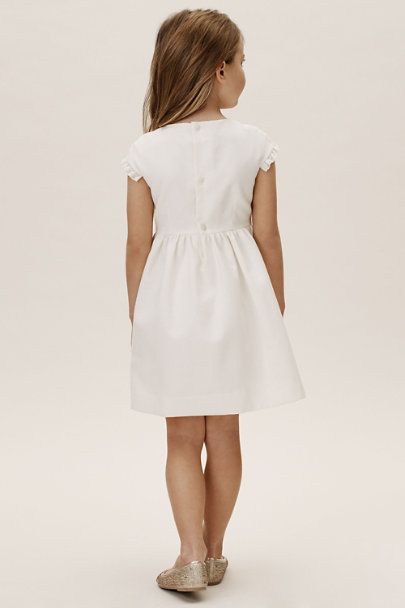 Childrenchic Off White Fitz Dress | BHLDN