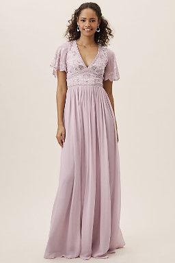 Purple Bridesmaid Dresses Bhldn