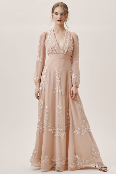 60s Wedding Dresses | 70s Wedding Dresses BHLDN Belize Dress $275.00 AT vintagedancer.com