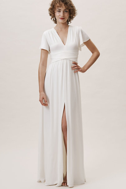BHLDN Ivory Mendoza Dress | BHLDN