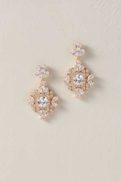 Davie & Chiyo Gold Gyldan Earrings | BHLDN