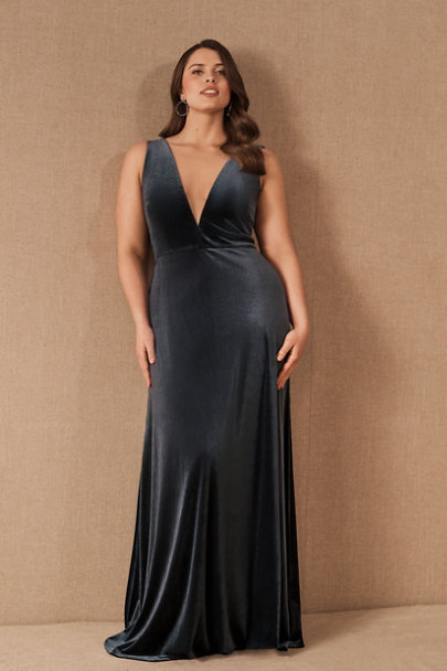 View larger image of Jenny Yoo Logan Velvet Maxi Dress