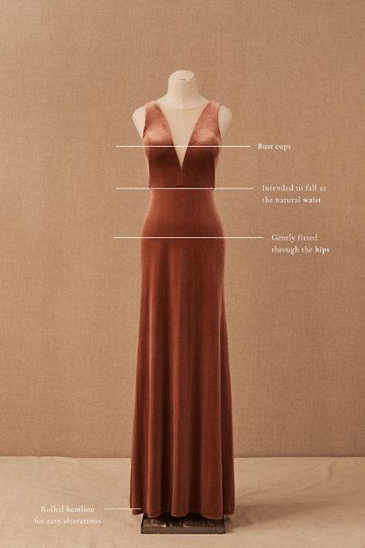 View larger image of Jenny Yoo Logan Velvet Maxi Dress
