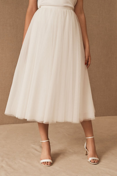 View larger image of BHLDN Sonya Sweater & Nouvelle Amsale Nandita Skirt