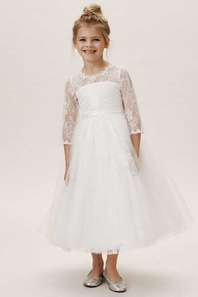 Princess Daliana Ivory/Ivory Liana Dress | BHLDN