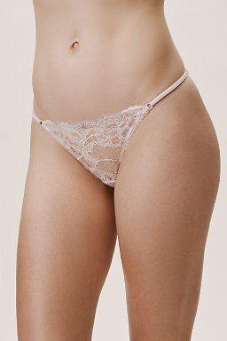 Barely There Adjustable Thong