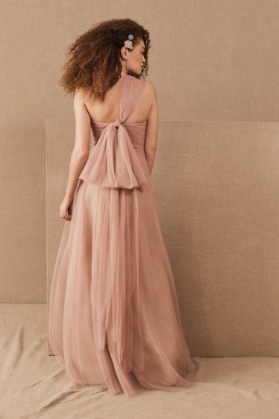 Jenny Yoo Whipped Apricot Ryder Convertible Dress | BHLDN