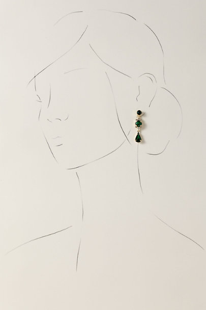 Sorrelli Green Constanze Earrings | BHLDN
