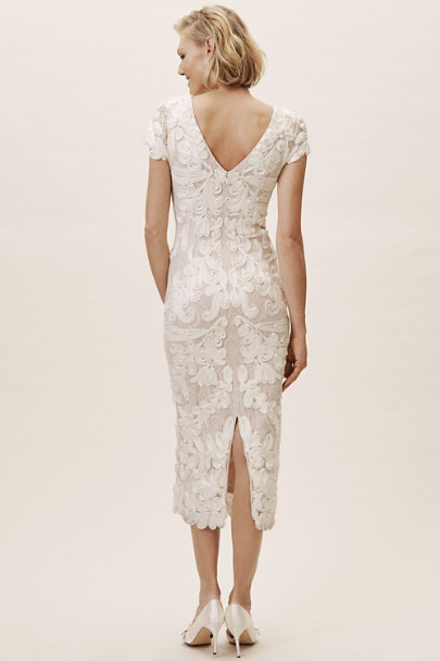 JS Collection Ivory Santiago Dress | BHLDN