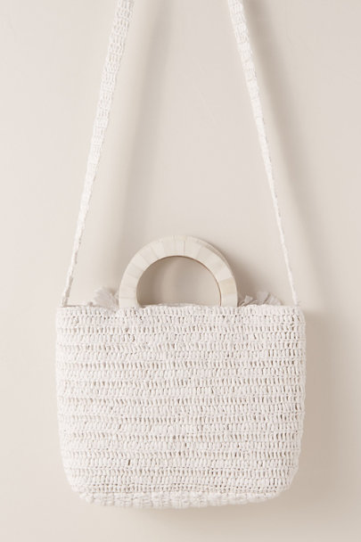 View larger image of Capri Raffia Tote Bag