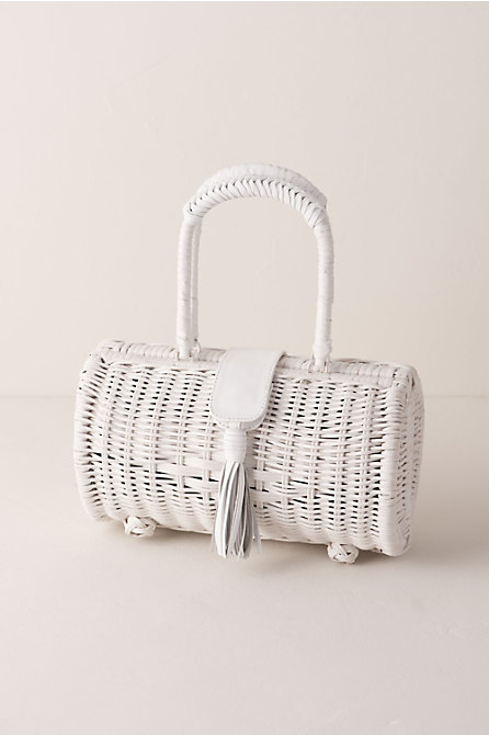 Clarissa Basket Bag