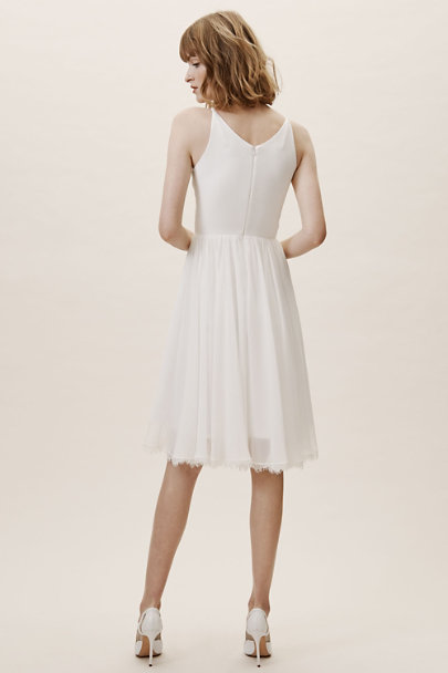 Dress the Population Ivory Alicia Dress | BHLDN