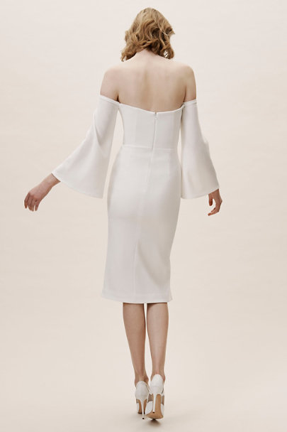 Dress the Population Ivory Erin Dress | BHLDN