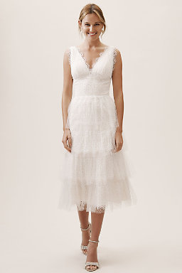 Bridal Shower Engagement Party Dresses For Brides Bhldn