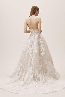 Strapless Wedding Dresses Gowns Bhldn