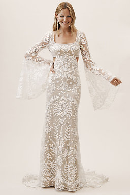52cf62a19a Bohemian Wedding Dresses   Boho Bridal Gowns
