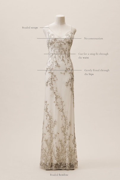 Watters Ivory Essen Gown | BHLDN