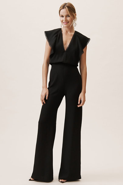 ML Monique Lhuillier Jet Brady Jumpsuit | BHLDN