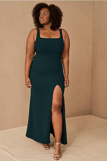 Adena Square-Neck Maxi Dress