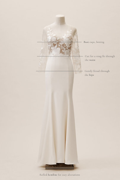View larger image of Wtoo by Watters Hettie Gown
