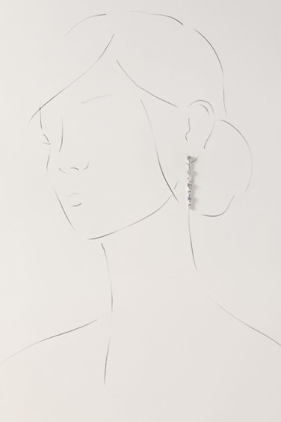 Jardin Silver Osanna Earrings | BHLDN