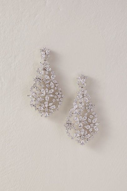 Jardin Silver Persis Earrings | BHLDN