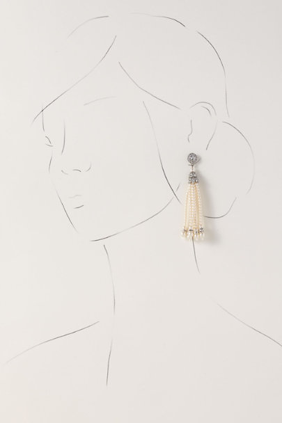Ben-Amun Silver Owena Earrings | BHLDN