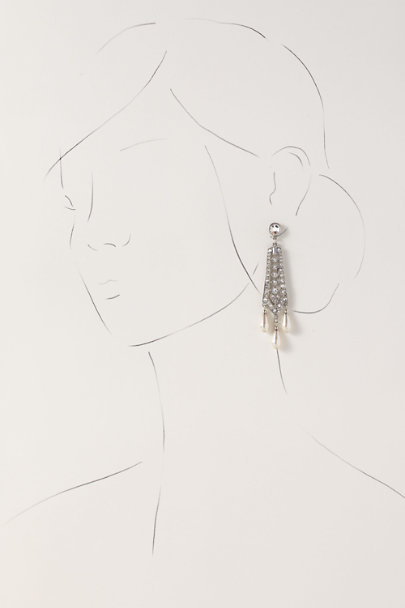 Ben-Amun Silver Oribella Earrings | BHLDN