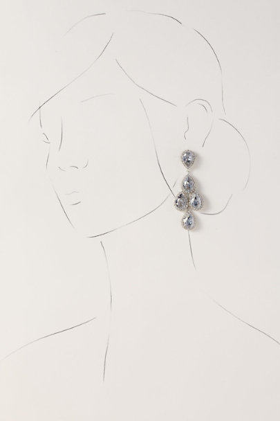 Ti Adoro Blue Pyrene Earrings | BHLDN