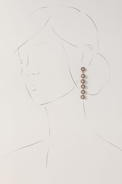 Theia Jewelry Gold Petronia Earrings | BHLDN