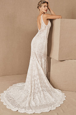 Bohemian Wedding Dresses Boho Bridal Gowns Bhldn