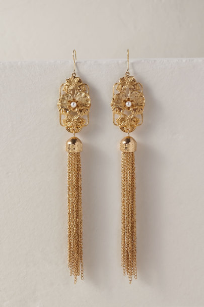 A.B. Ellie Gold Devri Earrings | BHLDN