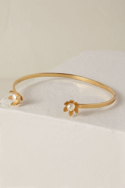 A.B. Ellie Gold Fifi Cuff | BHLDN
