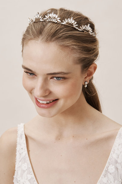 Brides & Hairpins Gold Natala Tiara | BHLDN